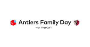「Antlers Family Day with Mercari」ロゴ