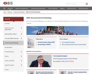 BIS:89th Annual General Meeting