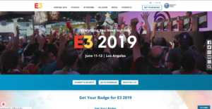 E3公式サイト