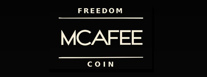 マカフィー創業者のジョン・マカフィー氏が独自の仮想通貨THE MCAFEE FREEDOM COINを発表