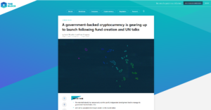 The Block:A government-backed cryptocurrency is gearing up to launch following fund creation and UN talks