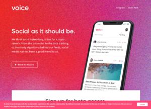 VOICE公式サイト