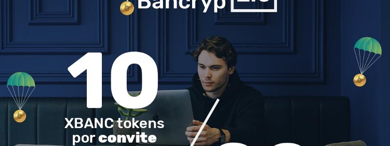 シンプルで簡単に仮想通貨を管理するプラットフォーム「Bancryp」の仮想通貨エアドロップ(AirDrop)参加方法
