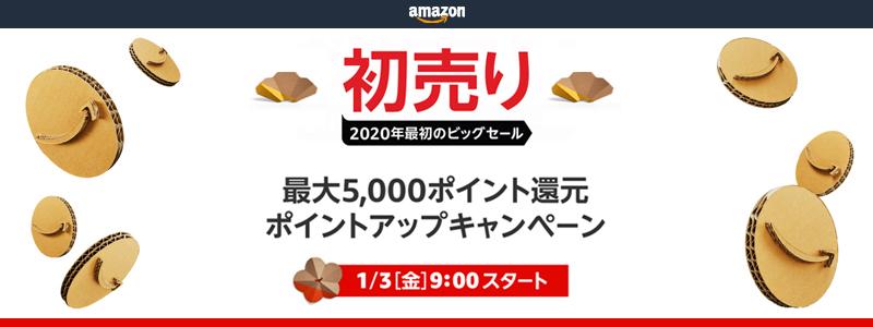 【Amazon福袋】Amazon Mastercardで買うと最大4.5%還元|プライム会員、アプリ利用なら最大7.5%