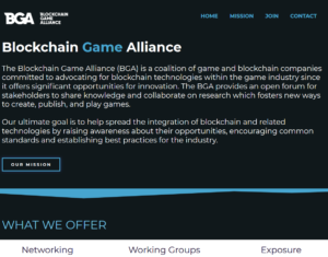 Blockchain Game Alliance(BGA)