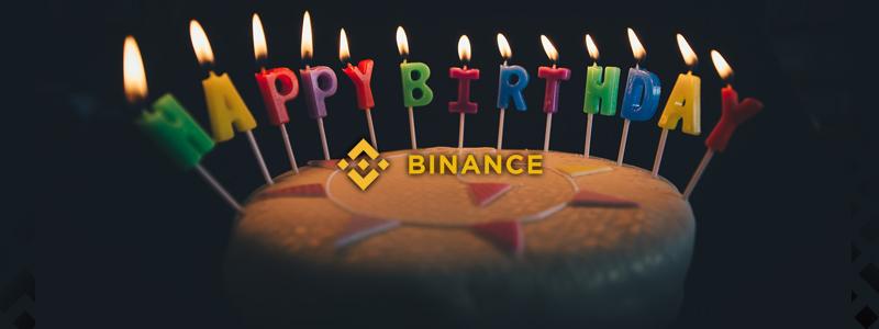 仮想通貨取引所バイナンス2周年 世界一の取引所はまだ開始して2年しか経っていない