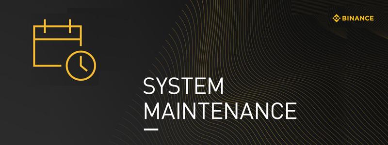 バイナンスがシステムメンテナンスを実施予定|ハッキングから約1週間で復旧か