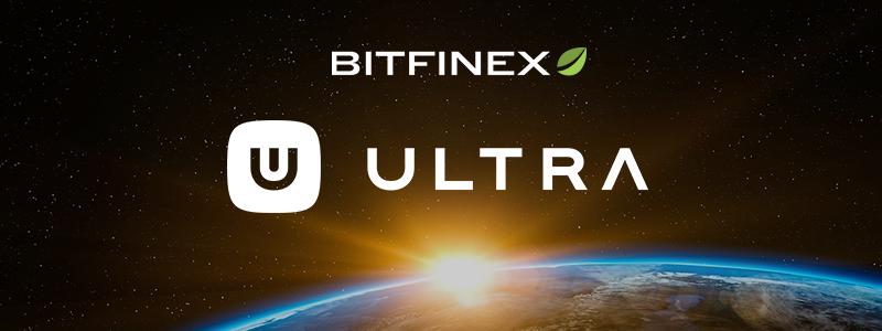 BitfinexのIEO第2弾、Ultraのトークンセールを発表