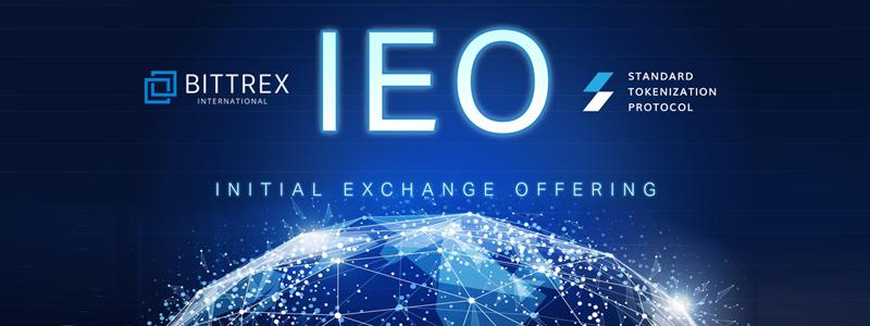 仮想通貨取引所ビットトレックス(BITTREX)が行うIEO第4弾Standard Tokenization Protocolは6月11日14時から販売開始