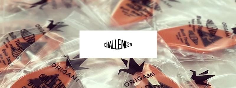 【Origami PAY(オリガミペイ)】アパレルブランド「CHALLENGER」とのコラボ非売品キーホルダー配布