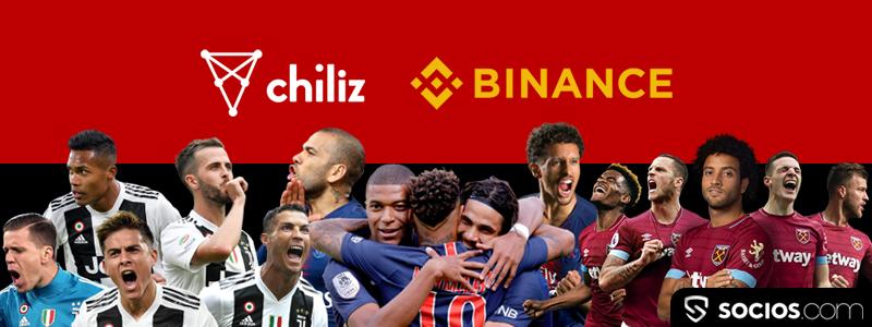 ブロックチェーン主要なユースケースとなるか|サッカー強豪パリサンジェルマンやユベントスにバイナンスチェーン