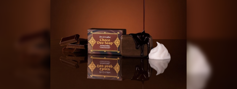 バレンタインギフト、まるでチョコレートのような石けん「チョコデオソープ」