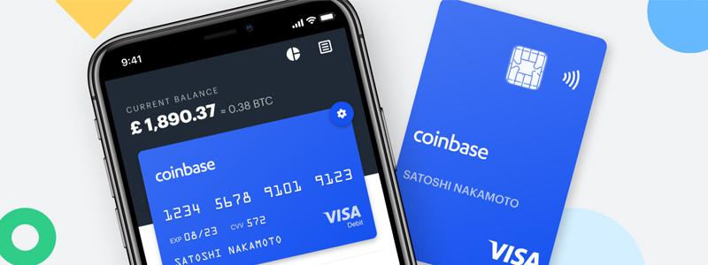 英コインベースカード|クレジットカードが使えるすべての店舗で仮想通貨決済が可能
