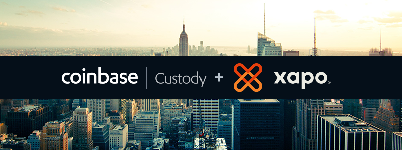Coinbase Custody(コインベースカストディ)がXapo法人事業を買収