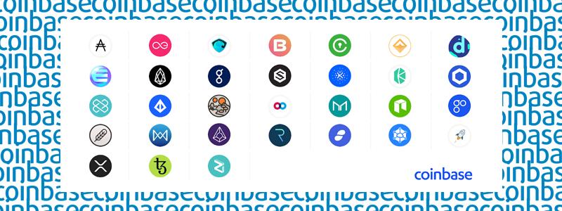 CoinBase(コインベース)が上場検討している通貨を新たに発表