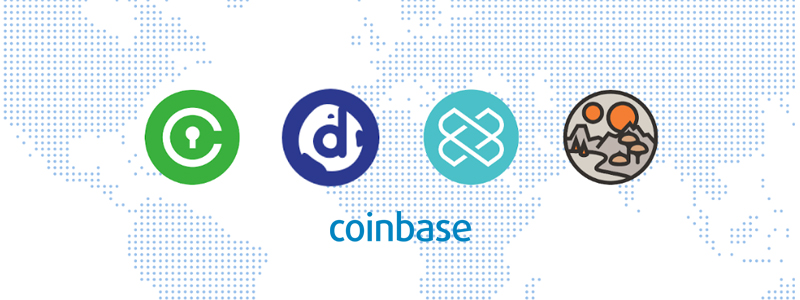 DecentralandやLoom NetworkなどCoinBase(コインベース)へ4通貨上場決定