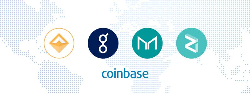 Dai、Golem、Maker、Zilliqa、米取引所Coinbase(コインベース)へ上場