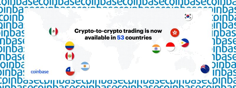 米仮想通貨取引所コインベース(coinbase)がインドや韓国など新たに11ヵ国に進出