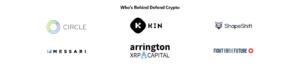 defend cryptoを支える企業・団体(コインベースはページ下部に記載)