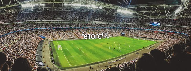 仮想通貨取引所にも進出するイートロ(eToro)は2年連続でサッカープレミアリーグの最大スポンサー