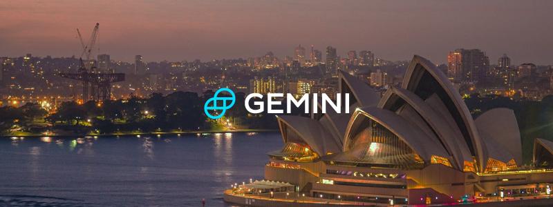 米仮想通貨取引所のジェミナイ(Gemini)がオーストラリアに進出