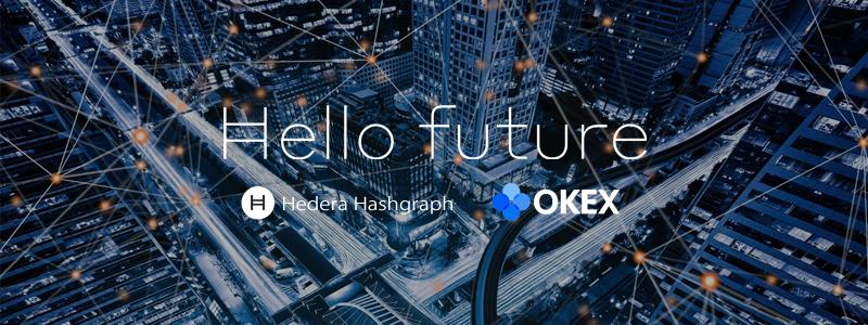 仮想通貨取引所OKExは次世代技術ヘデラ・ハッシュグラフ(Hedera Hashgraph)の上場を発表