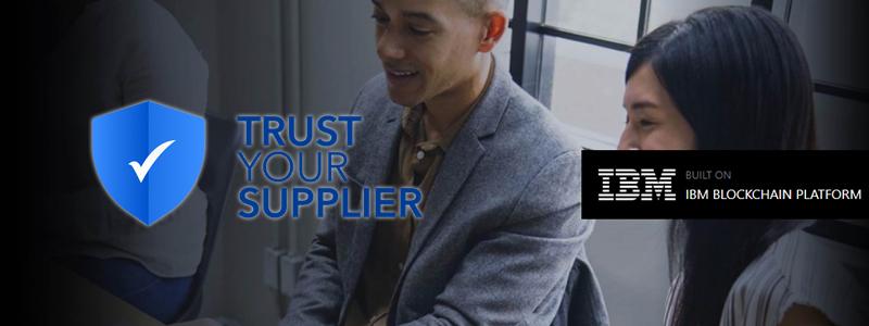 IBMがブロックチェーン技術を使った新たな物流システム「Trust Your Supplier」を発表