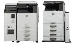 店内設置のマルチコピー機の例