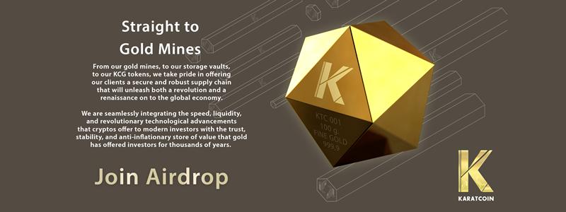 Karatcoinから学ぶ、エアドロップの参加方法