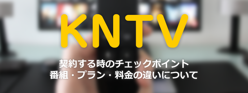 韓流チャンネルKNTVを契約する時のチェックポイント|番組・プラン・料金の違いについて