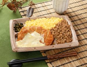 タルタルチキン南蛮&鶏そぼろ弁当