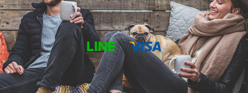 LINE PayとVISAが提携|LINE Payでカード利用、またVisa加盟店でLINE Pay利用可能に