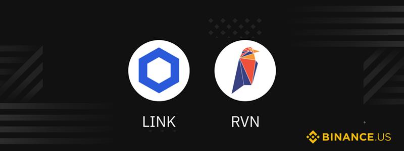 バイナンスUSがChainlink (LINK)とRavencoin (RVN)の取り扱いを発表