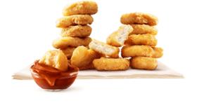 チキンマックナゲット15ピース