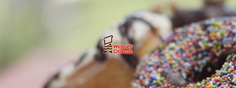 ミスタードーナツ 11日からの「dポイント」導入にあわせてポイント還元キャンペーン開催