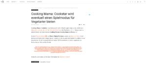 Nintendo Connect:Cooking Mama: Cookstar wird eventuell einen Spielmodus fur Vegetarier bieten