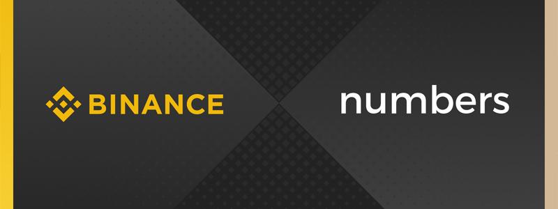 バイナンスが個人データ追跡に焦点を当てたブロックチェーンプロジェクトNumbersへ出資