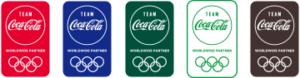 チーム コカ・コーラ オリンピック応援マーク(イメージ)