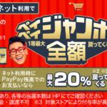 PayPay(ペイペイ)、抽選で全額戻ってくるペイペイジャンボを12月も開催!12/1から