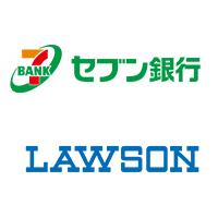 セブン銀行とローソンのロゴ