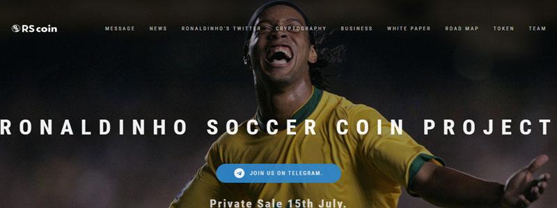 RSCoin(ロナウジーニョ・サッカー・コイン)がスタート