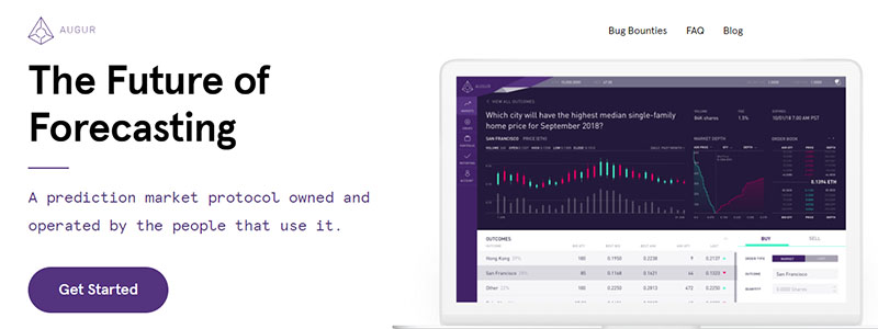 予測市場のAugur(オーガー)プレイリポート、Augur Appの使い方を解説