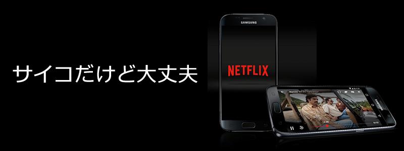 Netflix(ネットフリックス)で「サイコだけど大丈夫」が観れる