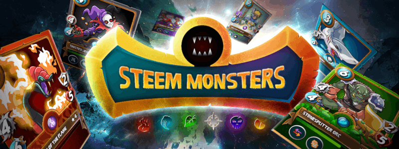 【Steem Monsters】年末年始に遊びたいDAppsゲーム紹介(その3)