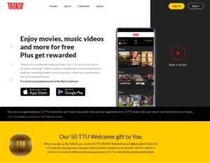 TATATU公式サイト