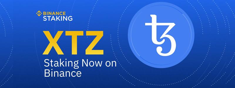 テゾス(Tezos/XTZ)がバイナンスの報酬分配するステーキングサービスに追加