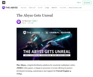 The Abyss Medium:The Abyss Gets Unreal