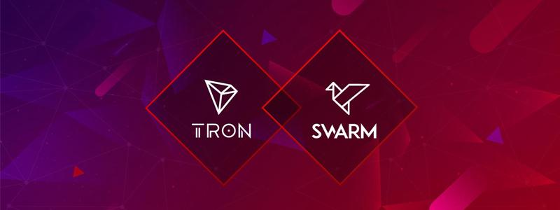 セキュリティトークン発行のスワーム(Swarm)がトロンと提携|トロン上で証券のトークン化