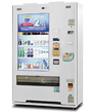 デジタルサイネージ自販機の例