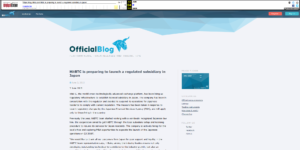 (WebArchive)HitBTC Official Blog:HitBTC is preparing to launch a regulated subsidiary in Japan